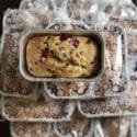 Chocolate Chip, Cranberry & Orange Quick Bread